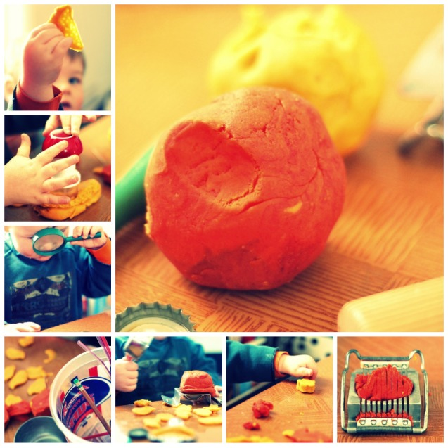 playdough-collage