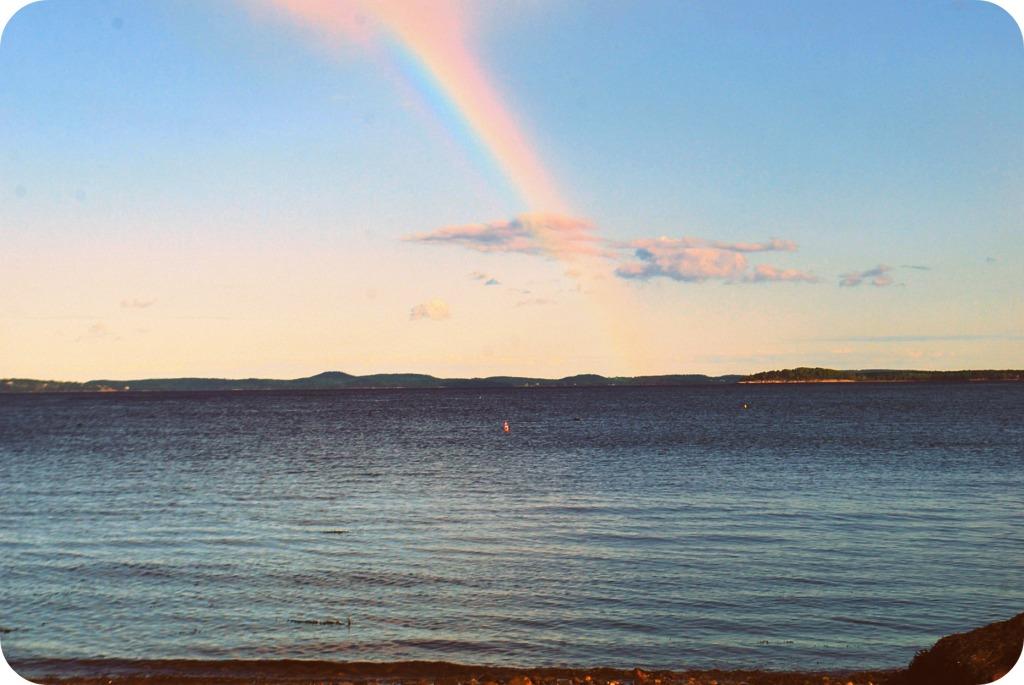 Rainbow on my 40th