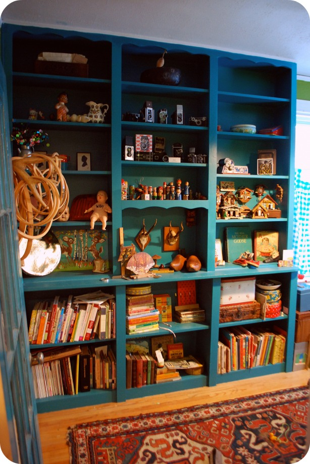 arts and crafts bookshelf plans